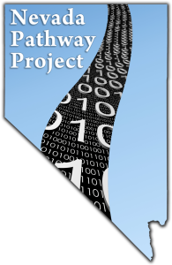 I designed the official logo for the Nevada Pathway Project (2009-2011).